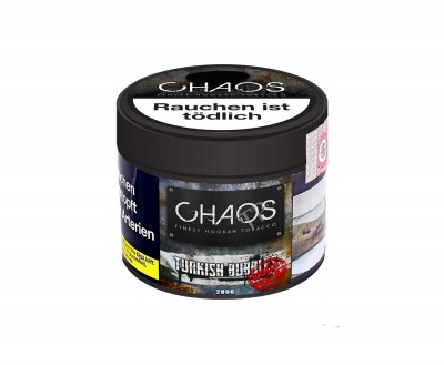 Chaos Turkish Bubbles Code Red Tabak 200g