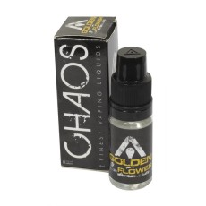 Chaos Vaping Golden Flower 10ml Liquid 0mg