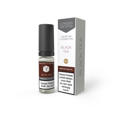 LYNDEN Black Tea 10ml Liquid 0mg