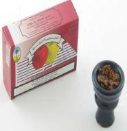 Tabak in Kopf füllen